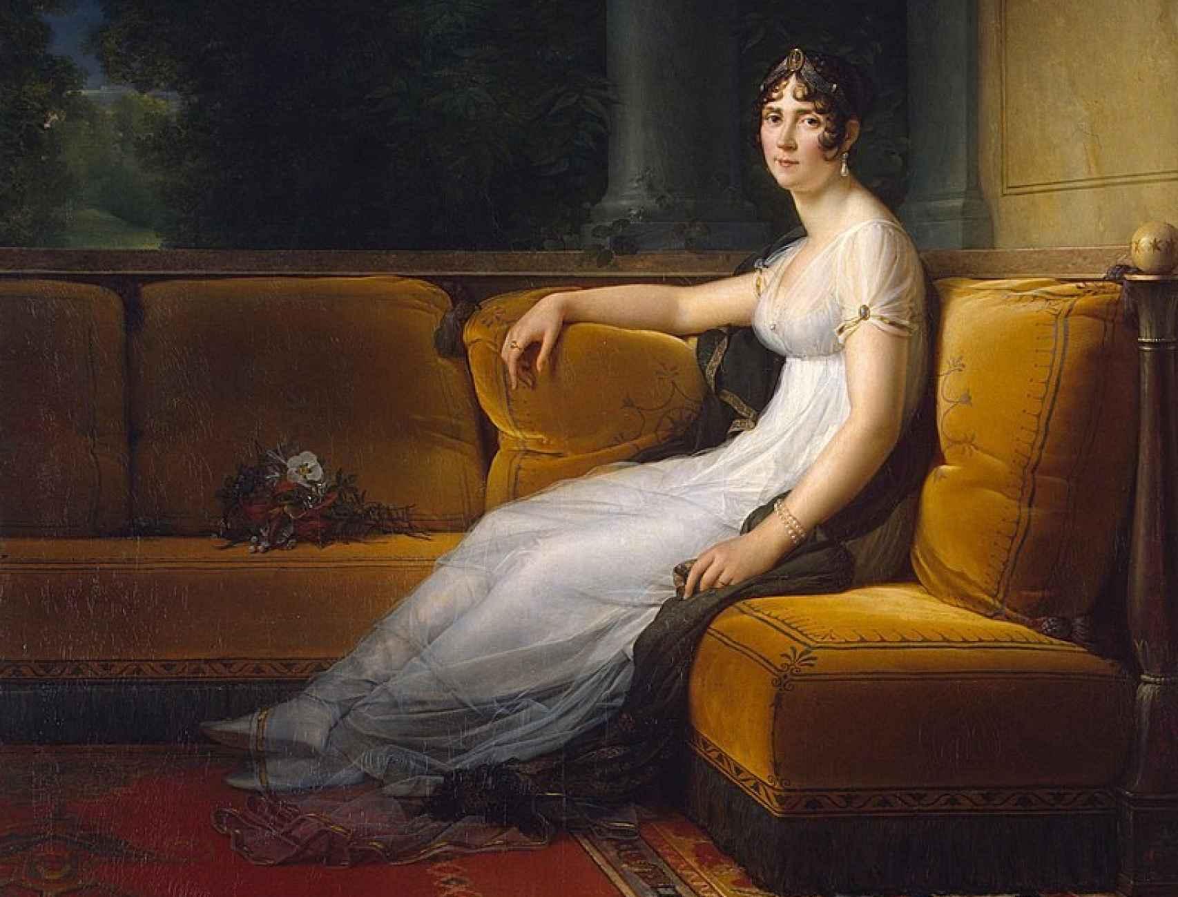 Retrato de la emperatriz Josefina Bonaparte, por François Gérard.