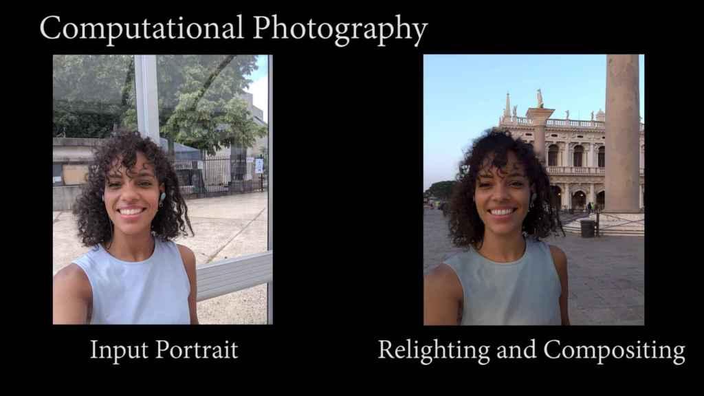 Cambio de fondo en un retrato