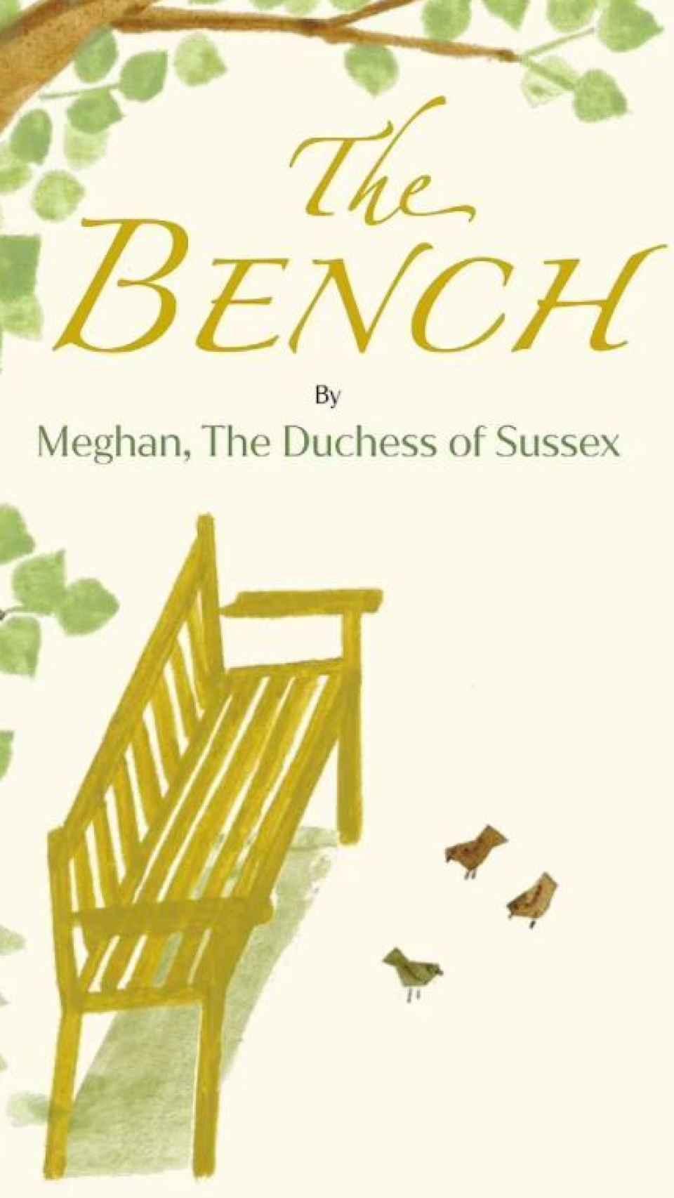 La portada del libro de Meghan.