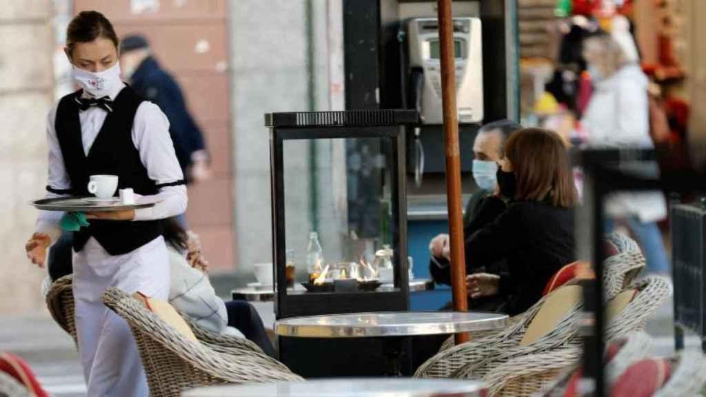 Restaurante en Valencia, en imagen de archivo.