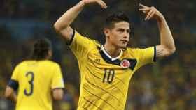 James Rodríguez con Colombia
