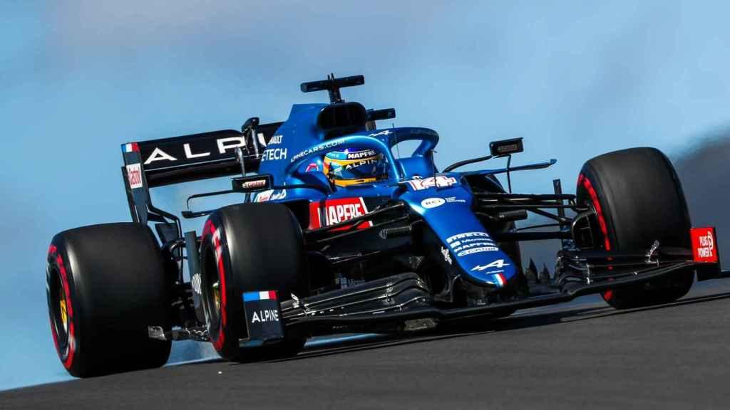 Fernando Alonso, en el Gran Premio de Portugal