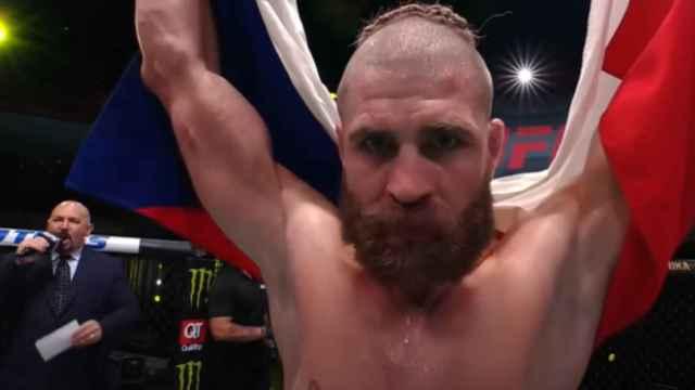 Jiri Prochazka, después de ganar a Dominik Reyes en la UFC Las Vegas 25