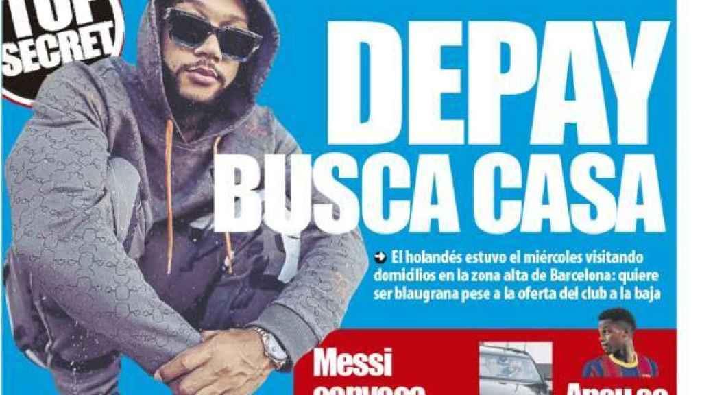 Portada Mundo Deportivo (04/05/21)