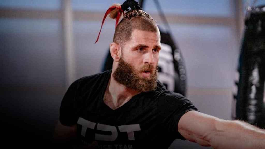 Jiri Prochazka, luchador checo de la UFC