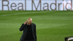 Zidane, en el estadio Alfredo di Stéfano