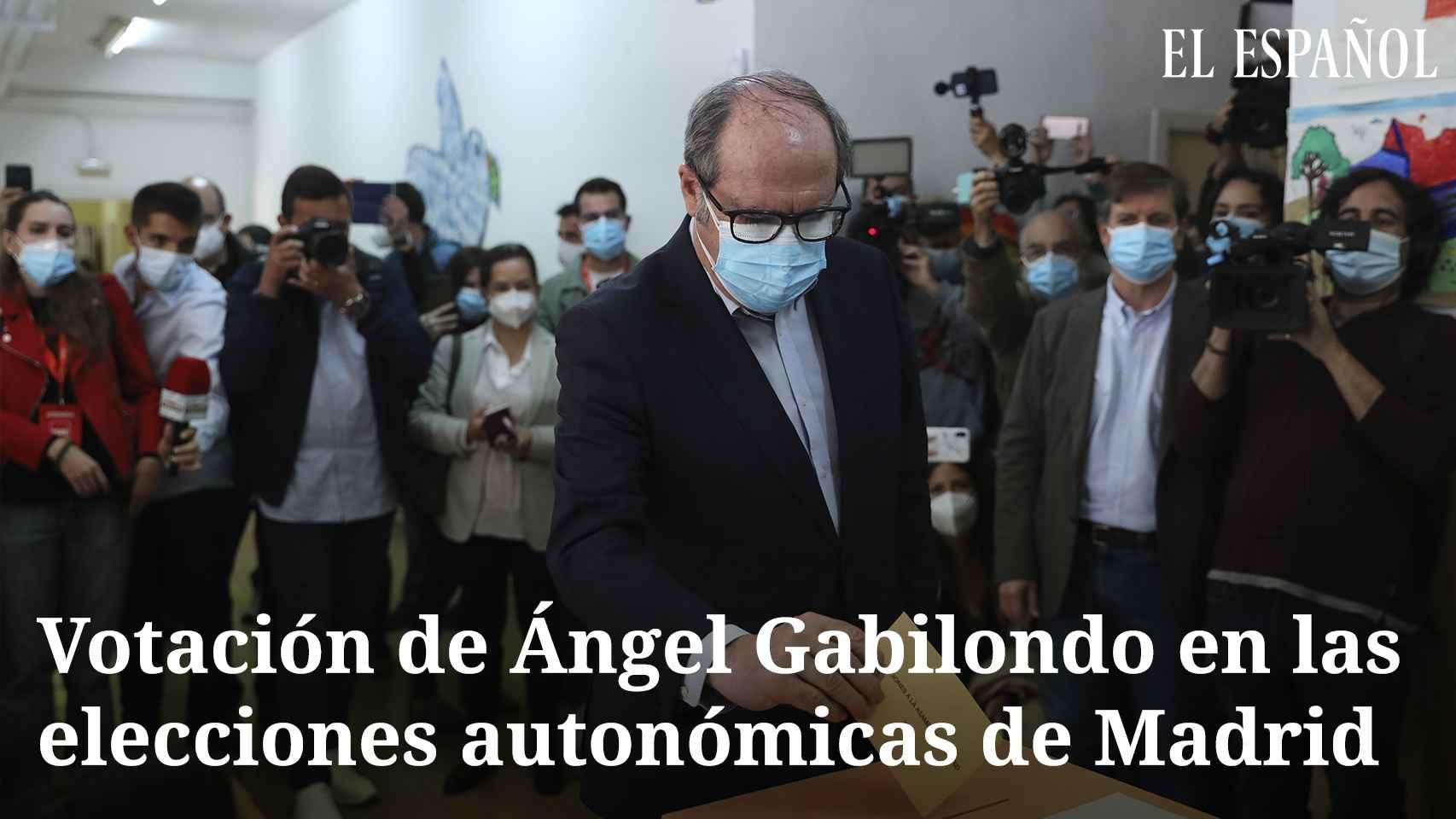 Ángel Gabilondo tras votar el 4M: Madrid se juega muchas cosas