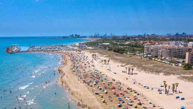Playa de la localidad valenciana de Canet d'en Berenguer. EE