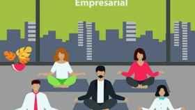 Cartel del seminario La promoción de la salud desde el mundo empresarial