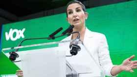 La líder de Vox en la Comunidad de Madrid, Rocío Monasterio. EP
