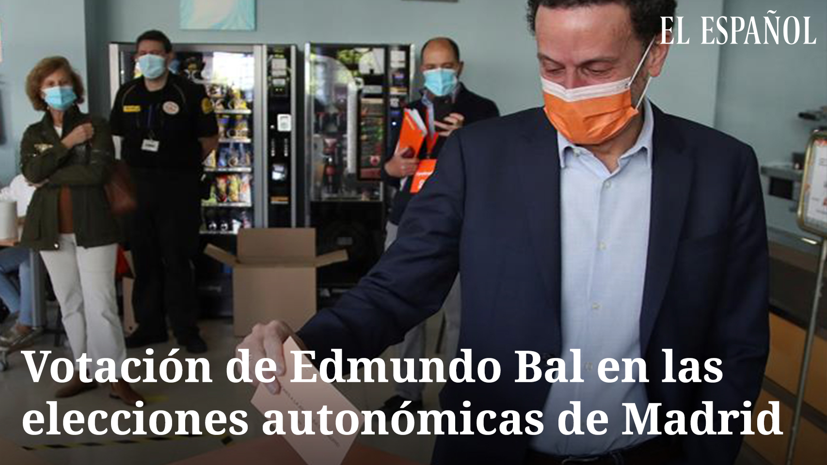 Edmundo Bal tras votar el 4M: Este partido está muy vivo y es más necesario que nunca