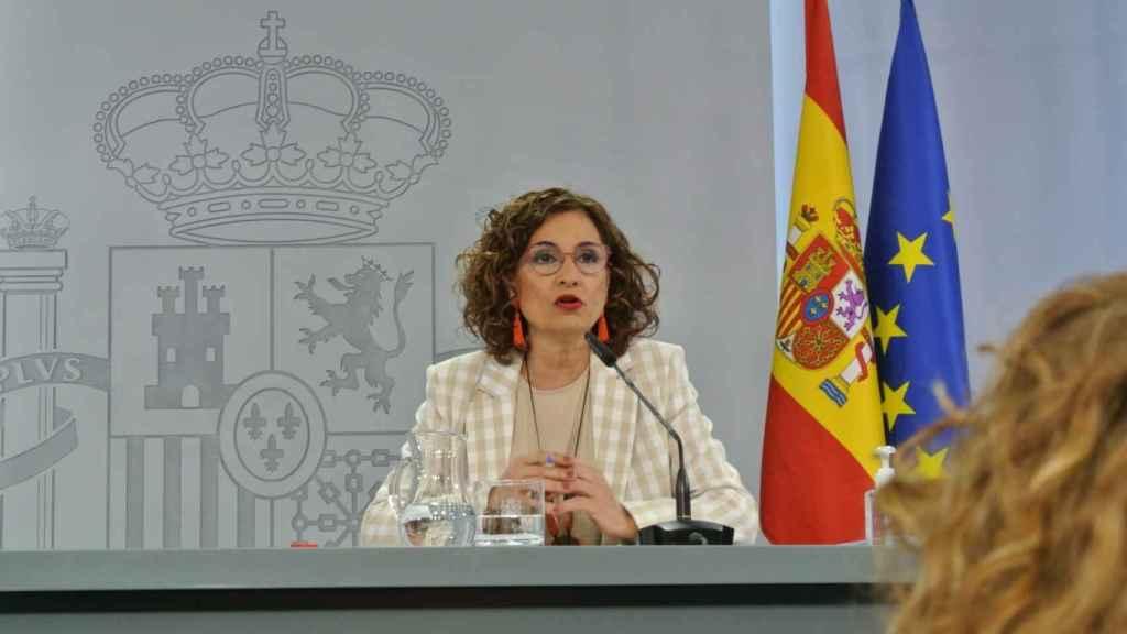 María Jesús Montero, ministra de Hacienda (ADP).