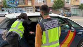 Uno de los dos detenidos por la agresión a un menor de edad el 30 de abril en Sevilla.