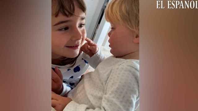 La madre ha solicitado la difusión del vídeo por si alguien las ve, avise a las autoridades