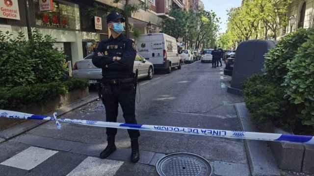 Atraco con heridos en una joyería de la calle Ayala (Madrid)