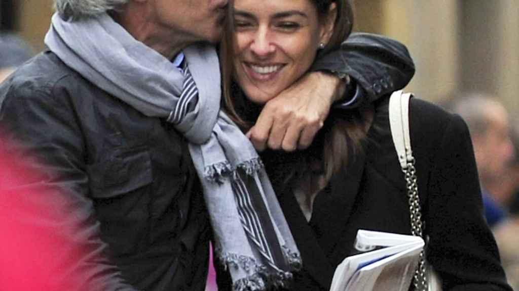 La pareja en una imagen de los comienzos de su relación.