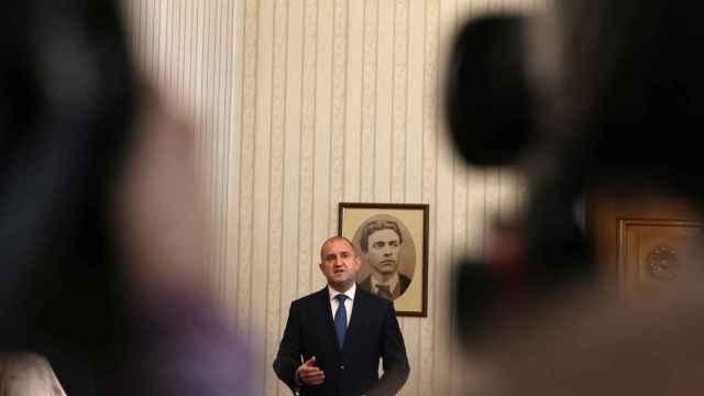 El presidente de Bulgaria en su declaración al país.