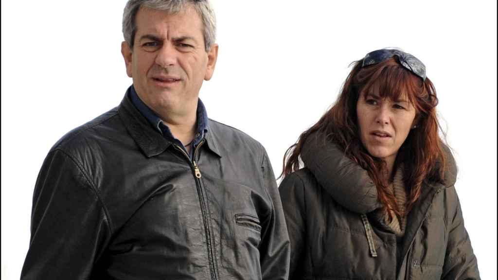Sobera y su esposa en una imagen de 2009.