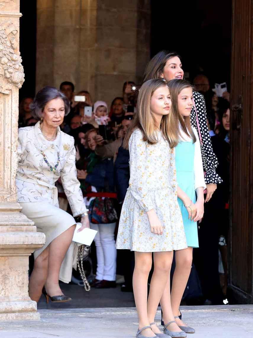 El 1 de abril de 2018, la reina Sofía y Letizia protagonizaron un altercado muy mediático en Mallorca.