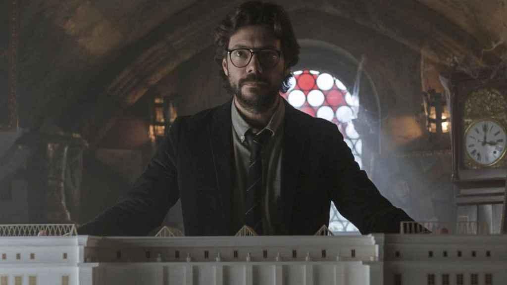 Álvaro Morte en 'La casa de papel'.