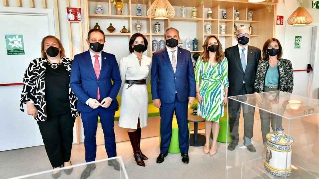 Jesús Aguilar y su equipo de gobierno.