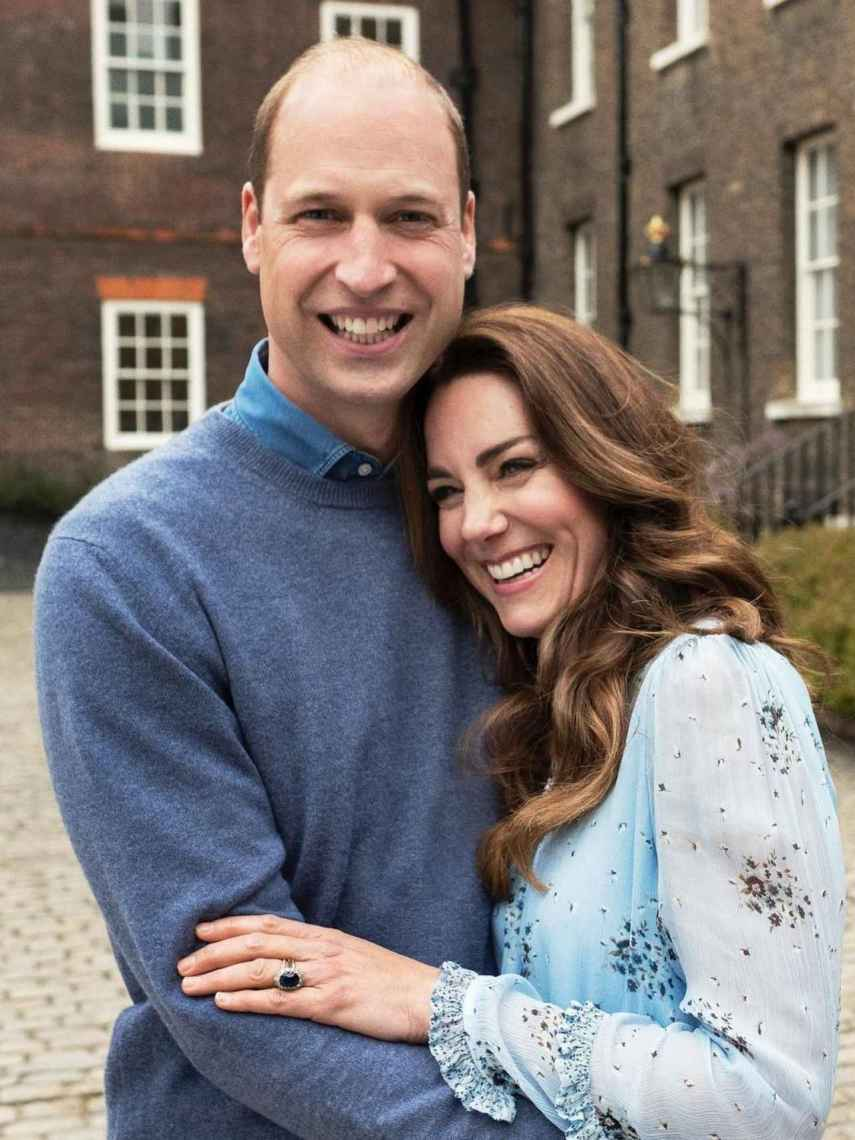 El príncipe Guillermo y Kate Middleton son los miembros más seguidores de la Casa Real británica.