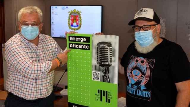 Presentación del cartel de Emerge Alicante 2021.