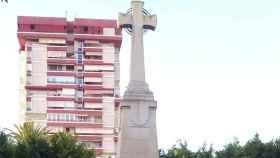 La cruz del paseo de Germanías es considerada parte de los símbolos franquistas por Compromís Elche.