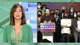 Ana Rosa celebra la marcha de Pablo Iglesias: Ya le debemos otra a Ayuso. Que cierre la puerta al salir
