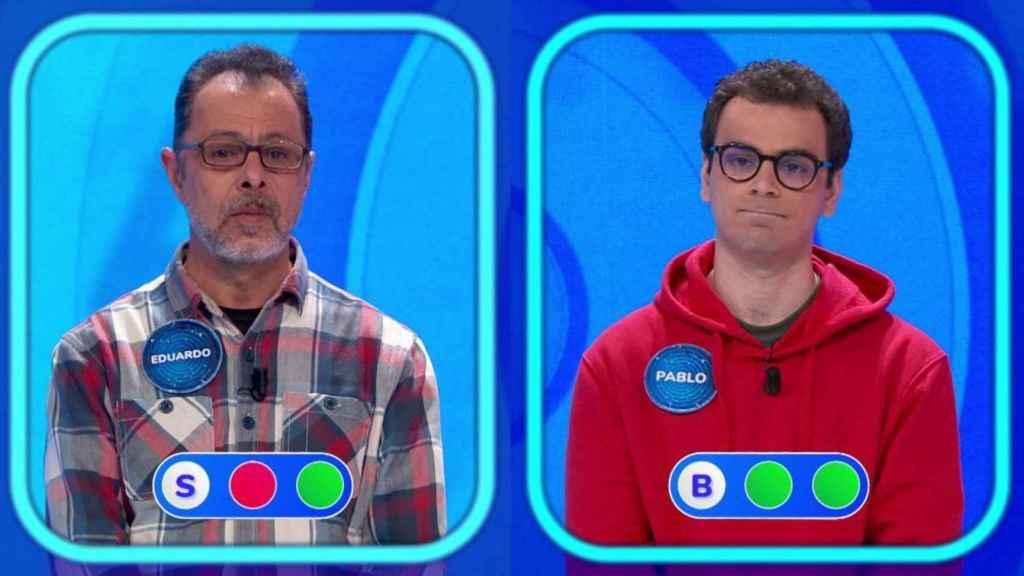 Eduardo y Pablo Díaz se han enfrentado este martes en 'La silla azul'.