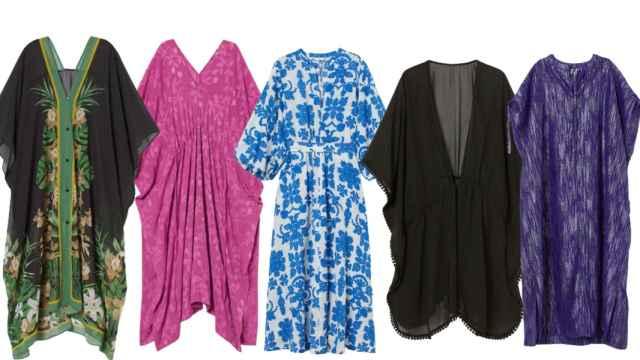 La fuerte apuesta de H&M por los caftanes para este verano: diseños playeros y de vestir para ir a la moda