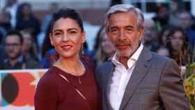 Imanol Arias e Irene Meritxell en una imagen de archivo.