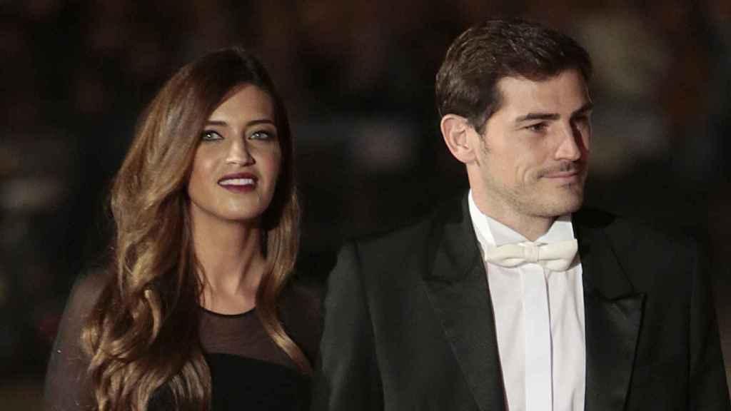 Sara Carbonero e Iker Casillas, durante un evento en Portugal.