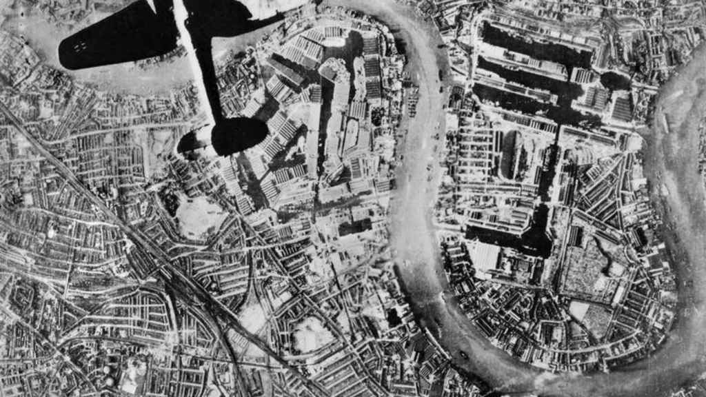 Bombardeo de Londres.