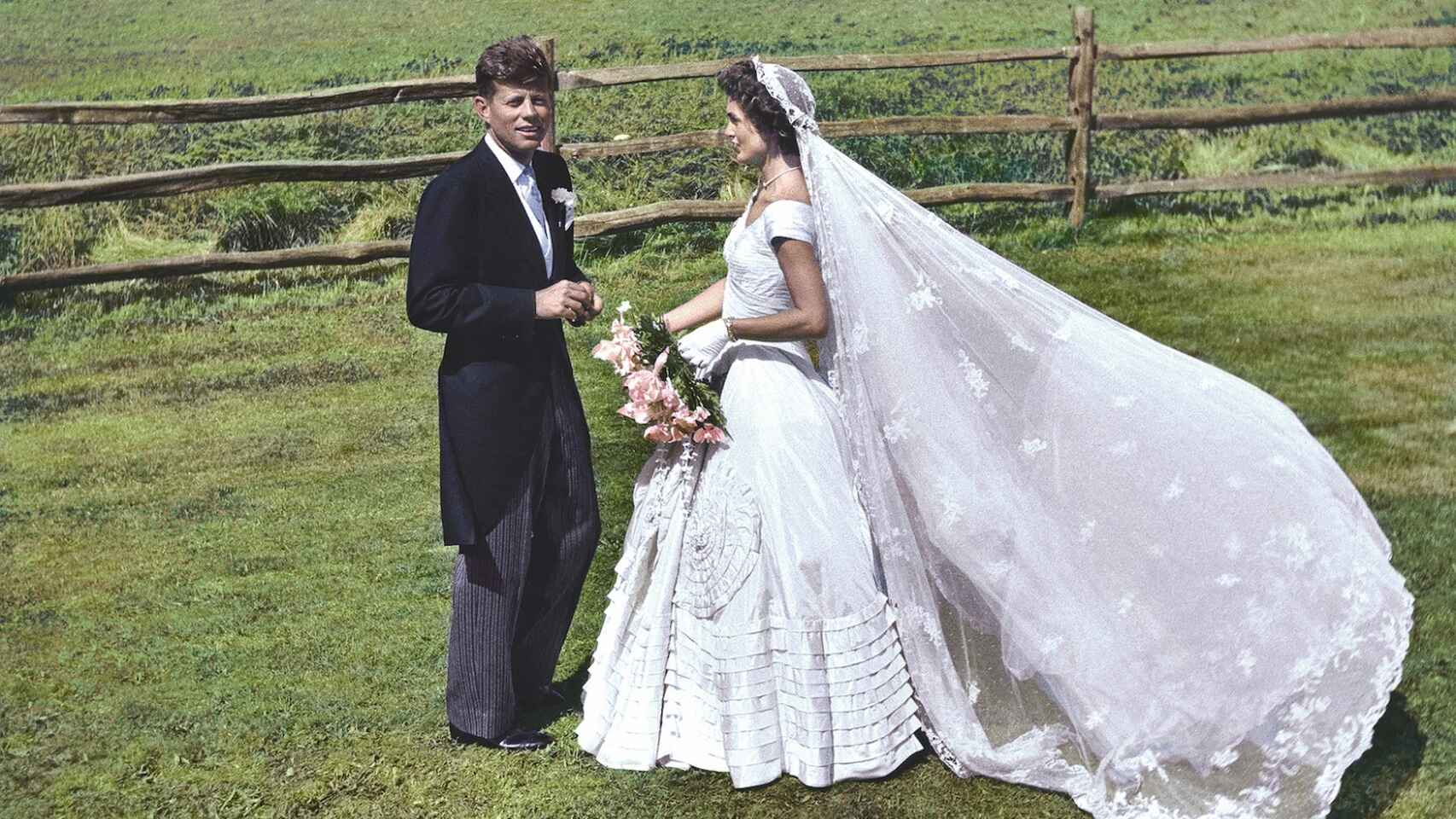 La boda de Kennedy y Jackie