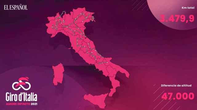 Así serán las 21 etapas del Giro de Italia 2021: recorrido y perfiles