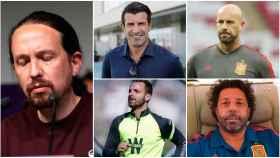 Deportistas despiden a Pablo Iglesias