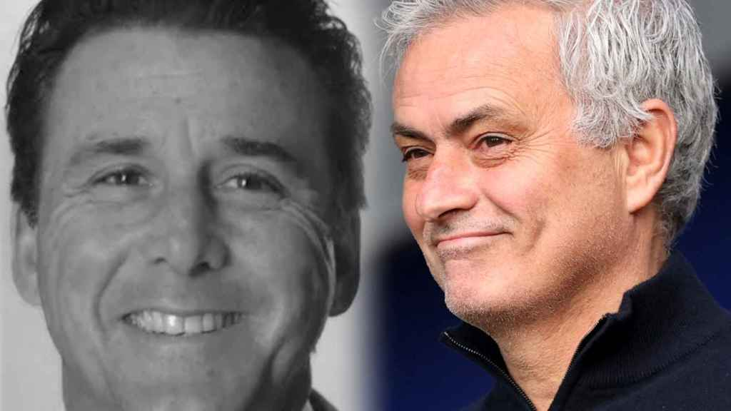 Dan Friedkin y José Mourinho, en un fotomontaje