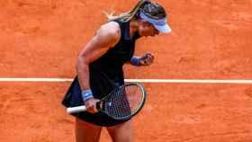 Paula Badosa, en el Mutua Madrid Open 2021
