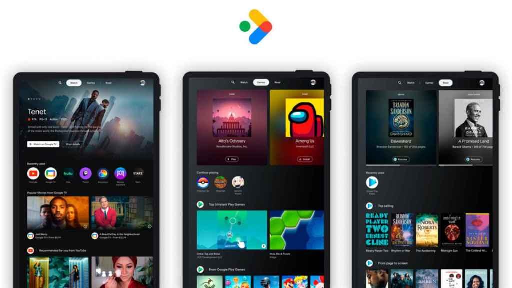 Google quiere resucitar las tablets Android con Entertainment Space