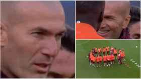 La charla de Zidane antes del Chelsea