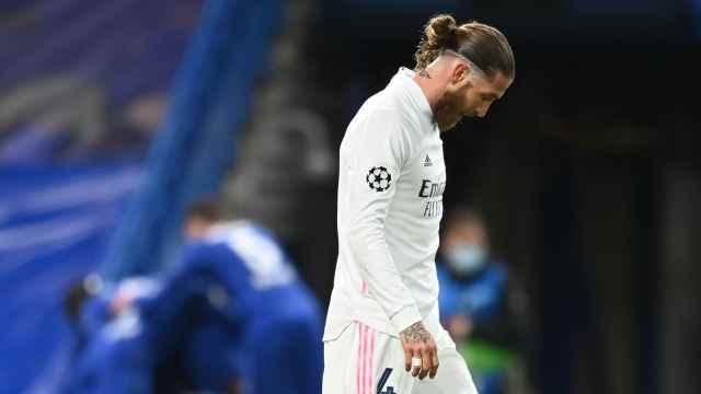 Sergio Ramos, tras el segundo gol del Chelsea ante el Real Madrid