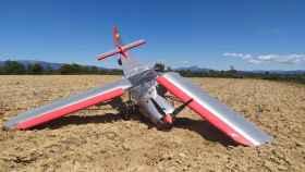 Una imagen de la avioneta accidentada (CEIS Guadalajara)