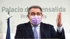 Jesús Fernández Sanz, consejero de Sanidad de Castilla-La Mancha, en una imagen reciente