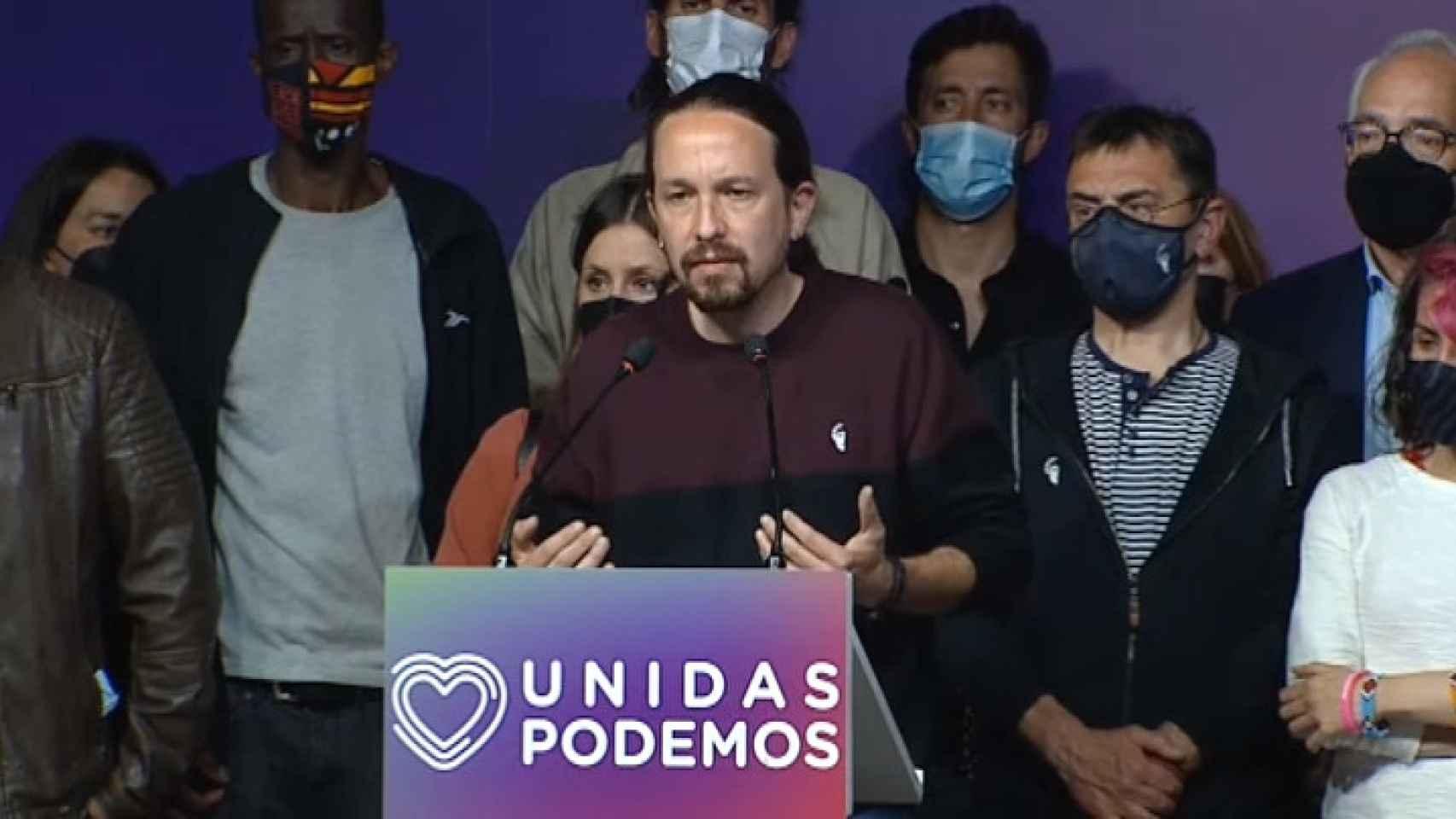 Pablo Iglesias deja la política