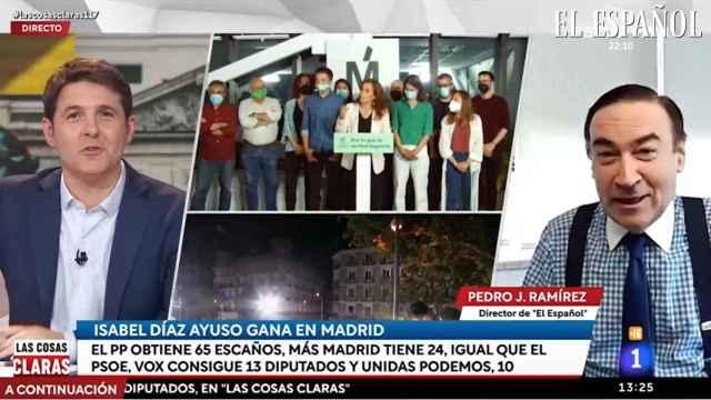 Intervención de Pedro J. Ramírez en el programa de Cintora tras el 4 de mayo