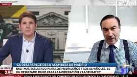 Pedro J. Ramírez durante su intervención en TVE este miércoles.