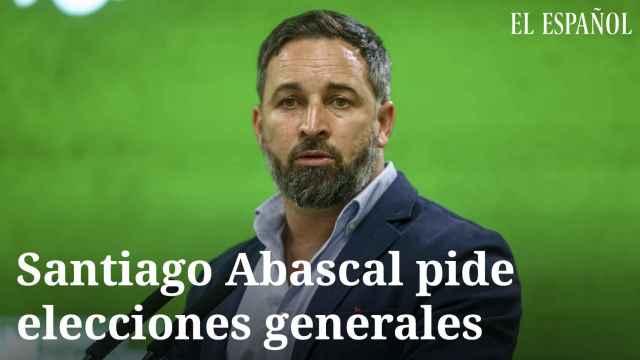 Santiago Abascal pide elecciones generales