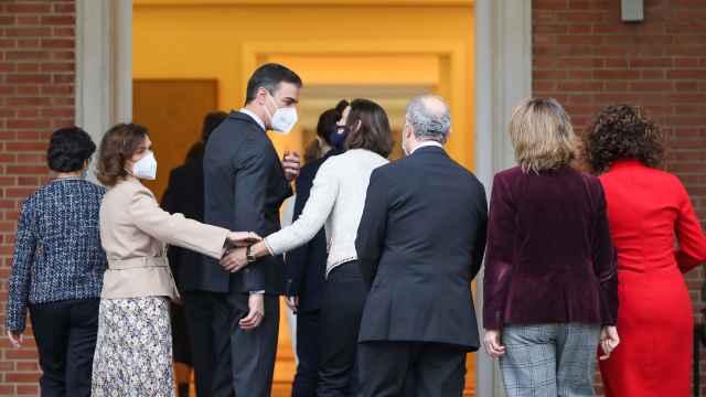 El Consejo de Ministros, en Moncloa.