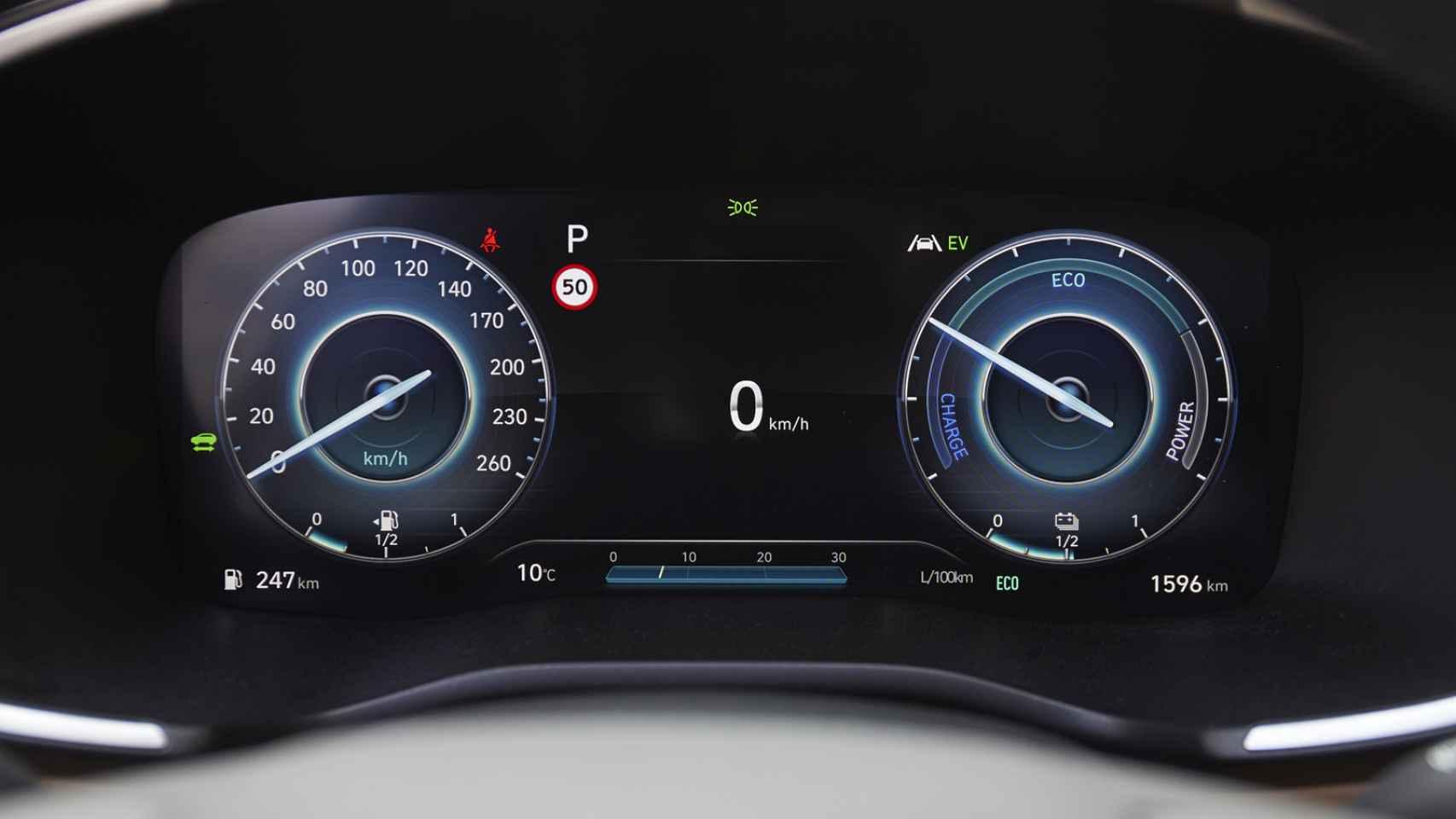 Galería de fotos del nuevo Hyundai Santa Fe, un SUV grande de siete plazas y con motores híbridos